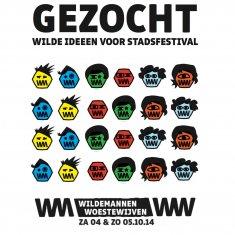 Walkie Talkie - Ghent - WILDEMANNEN WOESTEWIJVEN - Affiche - December 2016