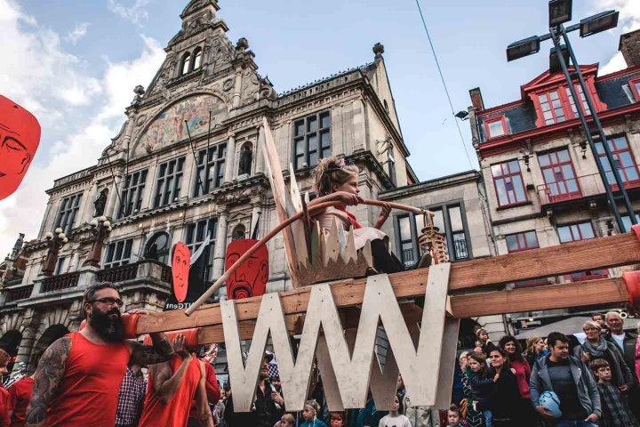 Walkie Talkie - Ghent - WILDEMANNEN WOESTEWIJVEN - December 2016