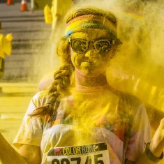 Walkie Talkie - Oostende - The Color Run - December 2016