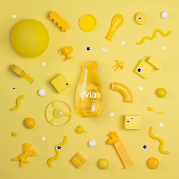 Walkie Talkie - evian - Fruits & Plants - June 2017