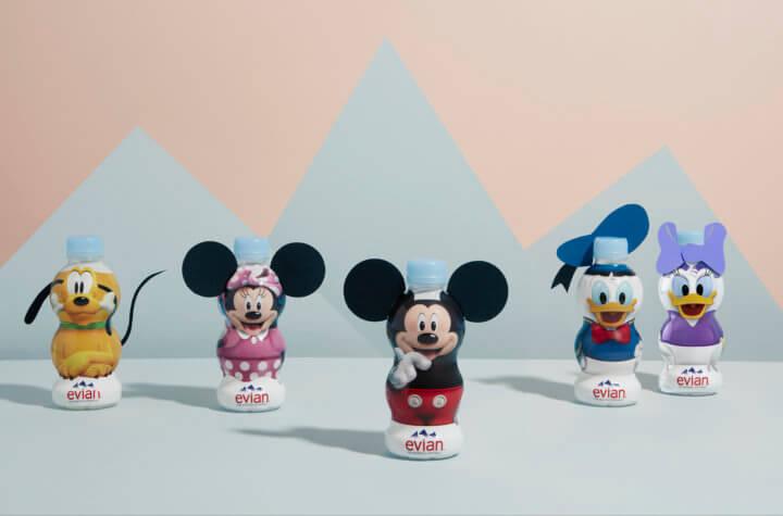 Walkie Talkie - evian - Water bottles Disney - We are Oskar